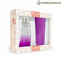 Подарочный парфюмированный набор AMALTEA Парфюмированная вода 75 мл + Гель для душа 150 мл