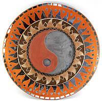 Зеркало настенное мозаичное Инь Янь