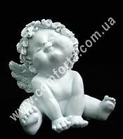 32952 Ангелочек - симпатяжка малый, высота ~ 12 см, статуэтка полистоун