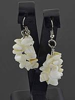 Серьги с крошкой камня (сережки с камешками)