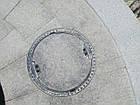 Люк канализационный тяжелый под заполнение KASI тип ТМ (D400) KDB02 (Чехия), фото 3