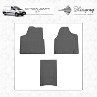 Резиновые коврики Citroen Jumpy 2007-