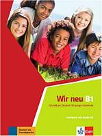 WIR neu 3 Lehrbuch mit audio-CD. Підручник