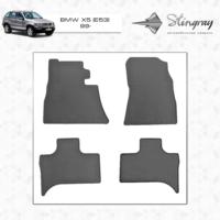 Резиновые коврики BMW X5 Е53 1999-2006