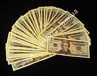 20 долларов,  сувенирные деньги для выкупа невесты (~ 80 купюр)