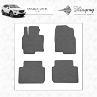 Резиновые коврики Mazda CX5 2011-