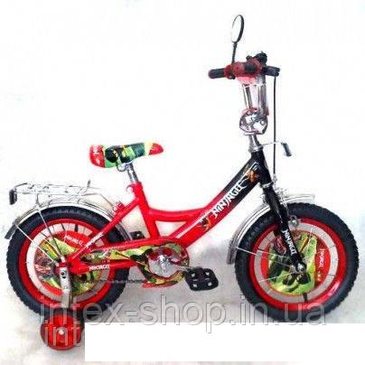 """Велосипед детский мульт 12"""" P 1244N-1 Красный NJ."""