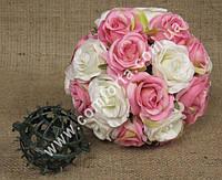 33245 Основа шар (d~7см) для флористических композиций из искусственных цветов