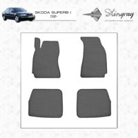 Резиновые коврики Skoda Super B I 2002-2008 (передние)