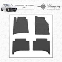 Резиновые коврики Porsche Cayenne 2002-2010 (передние)