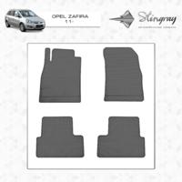 Резиновые коврики Opel Zafira 2011-