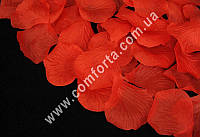 32470-11 Лепестки роз прессованные красные (~ 130 шт, 14 г), декор искусственный