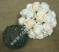 33793 Основа шар (d-15см) для флористических композиций из искусственных цветов