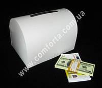 33901 Сундучок для денег, казна для свадьбы, заготовка (~ 25,5 x 17,5 x 18 см)