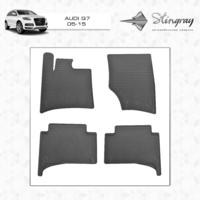 Резиновые коврики Audi Q7 2015- (передние)