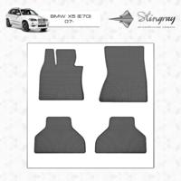 Резиновые коврики BMW X5 Е70 2007-2013