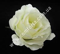 25555-01 Головка розы шампань, диаметр ~ 10 см, цветок искусственный