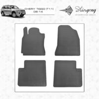 Резиновые коврики Chery Tiggo Т11 2006-2014 (передние)