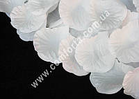 31767 Лепестки роз белые прессованные (~ 1600 шт, ~ 250 г), декор свадебный