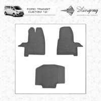 Резиновые коврики Ford Transit Custom 2012