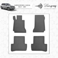 Резиновые коврики Mercedes Benz X204 GLK (передние)