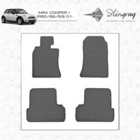 Резиновые коврики Mini Cooper II (передние)