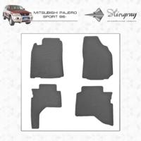 Резиновые коврики Mitsubishi Pajero Sport 1996-