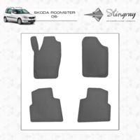 Резиновые коврики Skoda Roomster 2006-