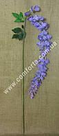 33187-07 Глициния большая сиреневая, высота ~ 185 см, цветок искусственный