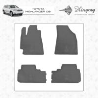Коврики в салон для Toyota Highlander 2008-