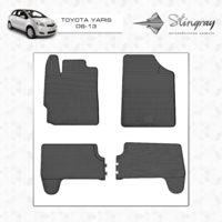 Коврики в салон для Toyota Yaris 2006-2012