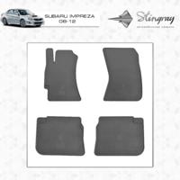 Коврики в салон для Subaru Impreza 2008-