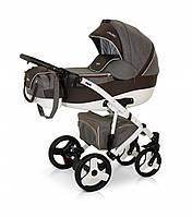 Детская универсальная коляска 2 в 1 VERDI VANGO 20, серый/корич