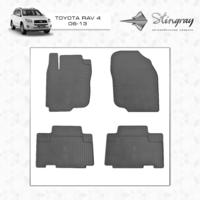 Коврики в салон для Toyota Rav 4 2006-2013
