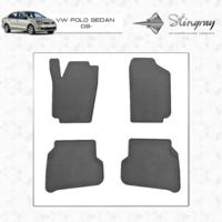 Коврики в салон для Volkswagen Polo 2009-
