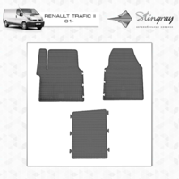 Коврики в салон для Renault Trafic II 2001-