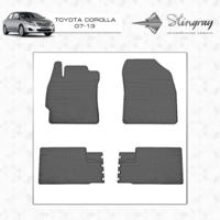 Коврики в салон для Toyota Corolla 2007-2013