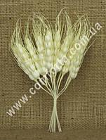 33585 Колоски маленькие (12 шт, высота - 19 см), растение искусственное