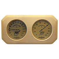 Термогигрометр для сауны, биметаллический сувенир ТГС исп.2.