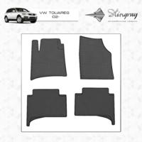 Резиновые коврики VW Touareg 2002-2010 (передние)