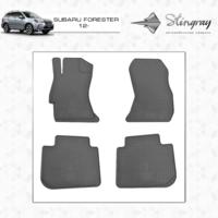 Коврики в салон для Subaru Forester 2012- (передние)