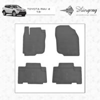 Коврики в салон для Toyota Rav 4 2013- (передние)