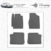 Резиновые коврики Toyota Camry XV20 1997-2002 (передние)
