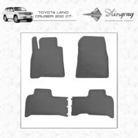 Резиновые коврики Toyota Land Cruiser 200 2007- (передние)