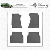 Резиновые коврики Subaru Forester II 2002- (передние)