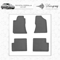 Коврики в салон для Toyota Corolla 2001-2007 (передние)