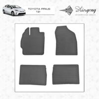 Коврики в салон для Toyota Prius 2012-
