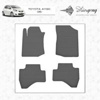 Коврики в салон для Toyota Aygo 2005- (передние)