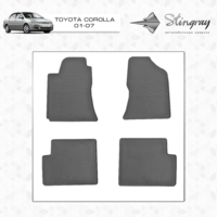 Коврики в салон для Toyota Corolla 2001-2007