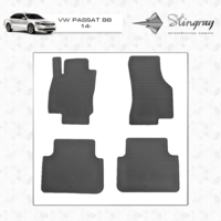 Коврики в салон для Volkswagen Passat B8 2014-